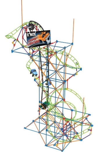 Giant Indoor Rollercoaster Toy Kit